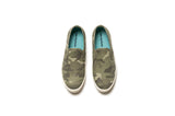 Womens - Baja Slip On Saltwash - Sage Camo