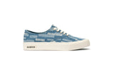 Womens - Legend Sneaker Embroidery - Stitched Denim