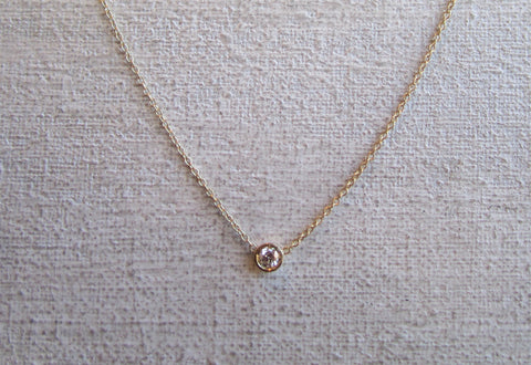 Classic Diamond Necklace | .15ct