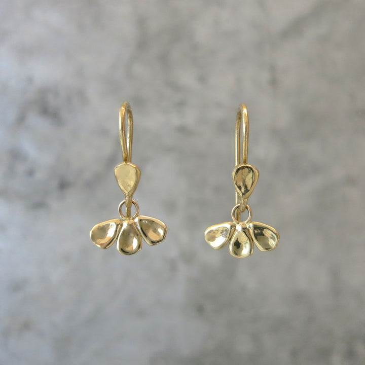 Cyprus Drop Earrings | Gold