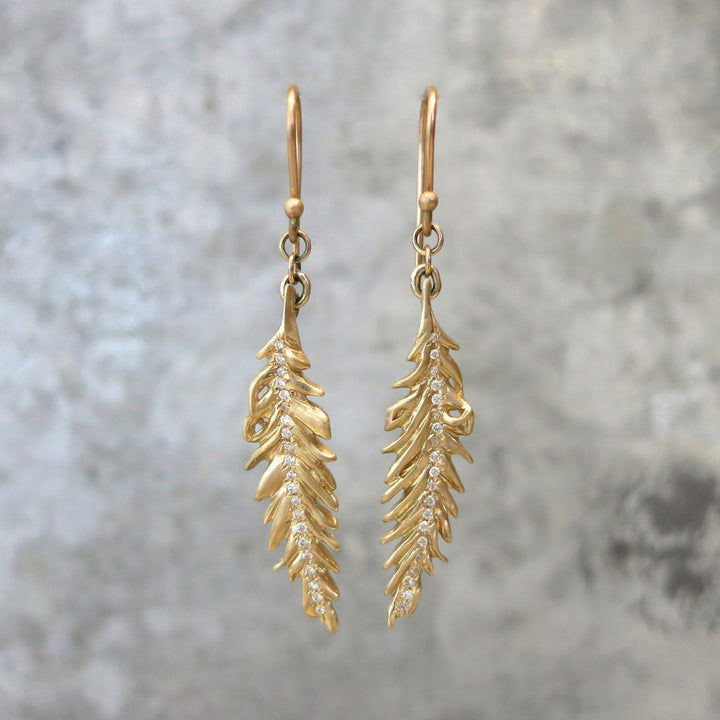 Phoenix Diamond Drop Earring