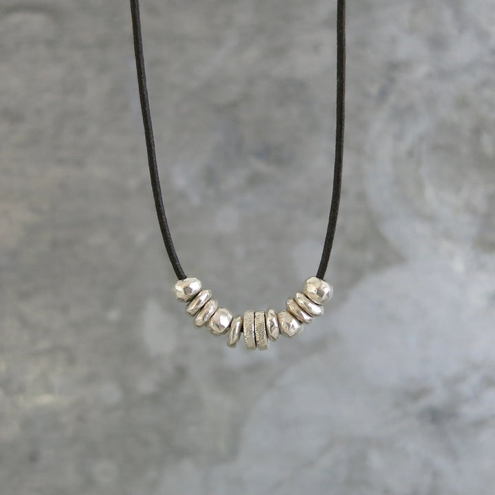 Jasper Necklace | Silver