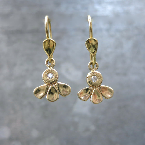 Hummingbird Earrings | Gold