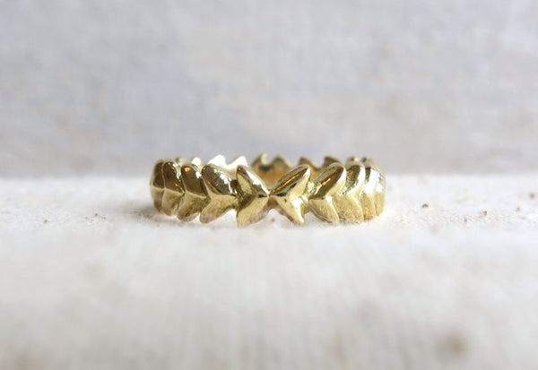Arrow Wreath Ring