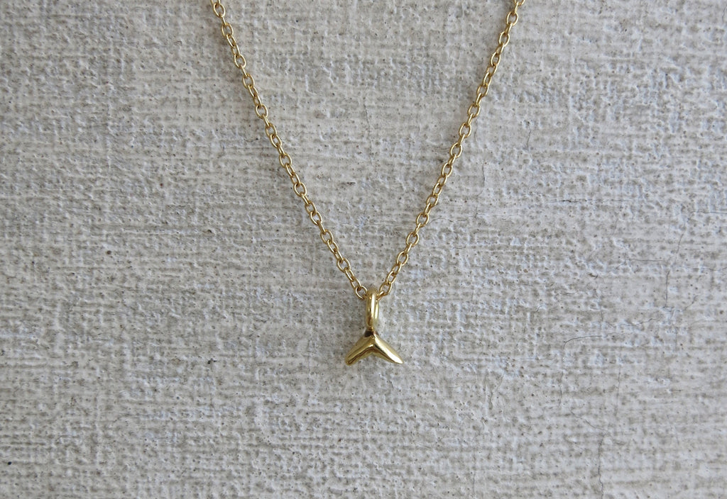 Single Arrow Necklace