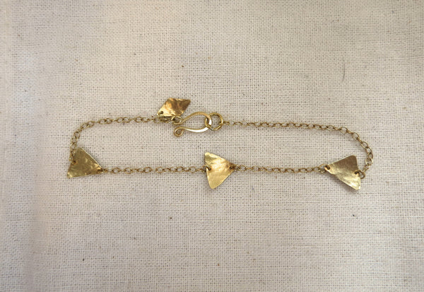 Triple Pyramid Shape Bracelet