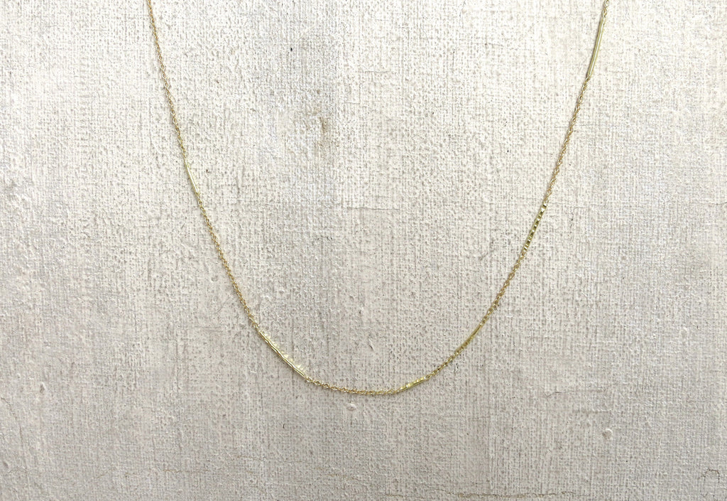 Stick and Chain Necklace