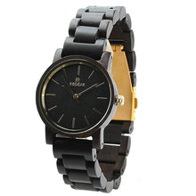 REDEAR Top Brand Nature Ebony Wood Women Watches Fashion Women'S Watches