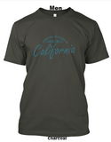 surfing always malibu men charcoal t shirt