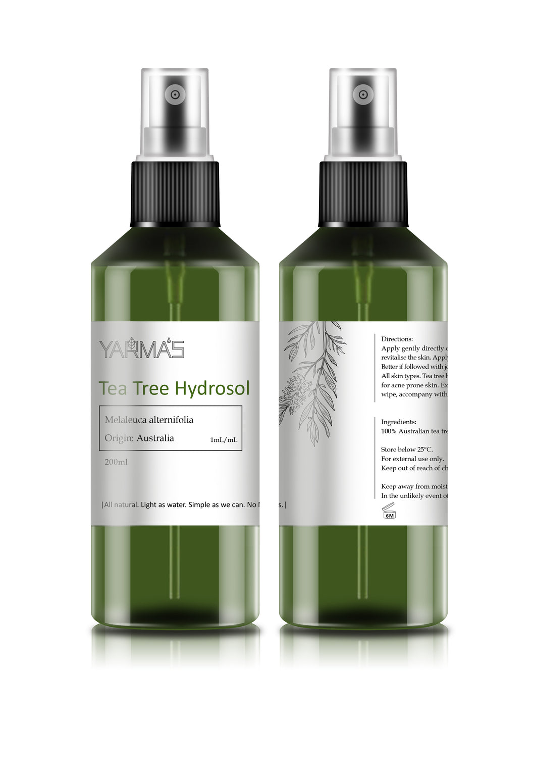 Tea Tree Hydrosol - 200ml