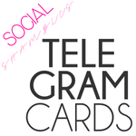 Social Shambles - Telegram Cards