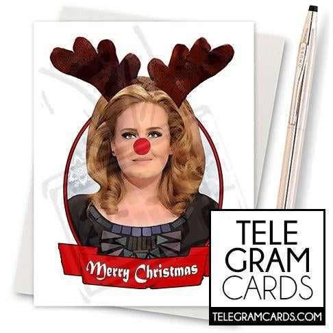 Adele - 001g - [ILCS][XMS] Merry Christmas (Rudolph)