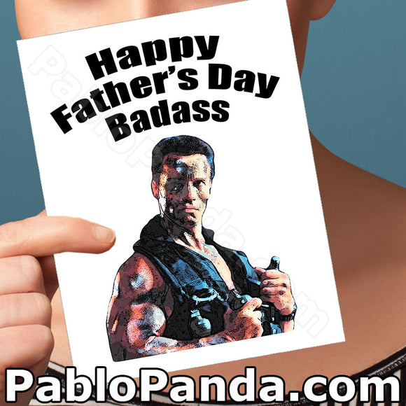 Happy Father's Day Badass - SocialShambles.com