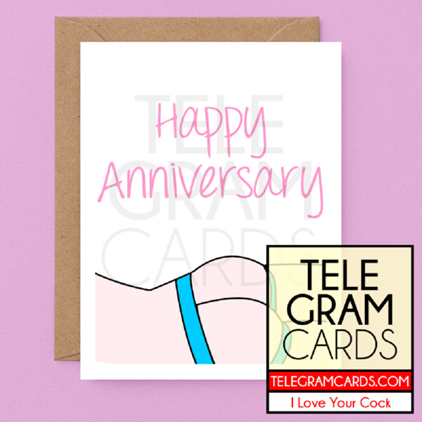 Art [ILYC-004C-ALL-P] Blue Strap - Anniversary