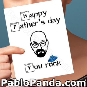 Happy Father's Day You Rock - SocialShambles.com