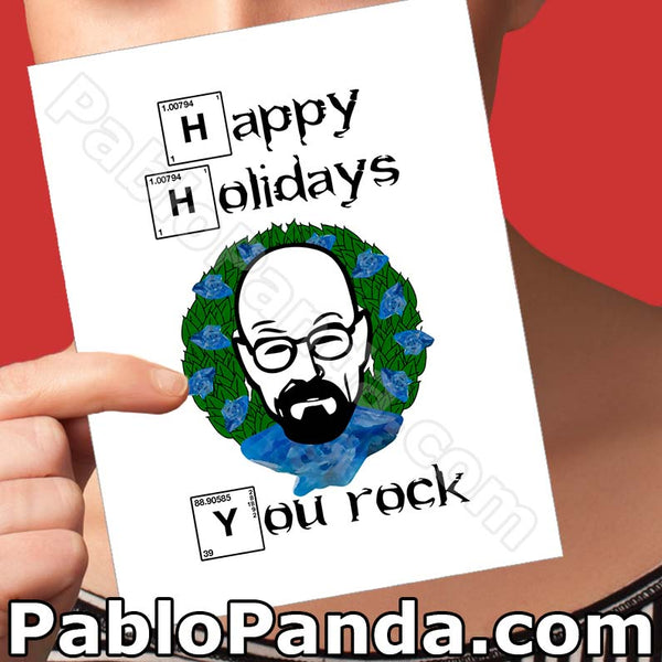 Happy Holidays, You Rock