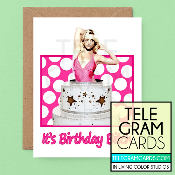 Britney Spears [ILCS-002A-HBD] It's Birthday Bitch - SocialShambles.com