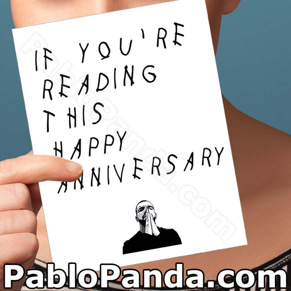 If You're Reading This Happy Anniversary - Social Shambles