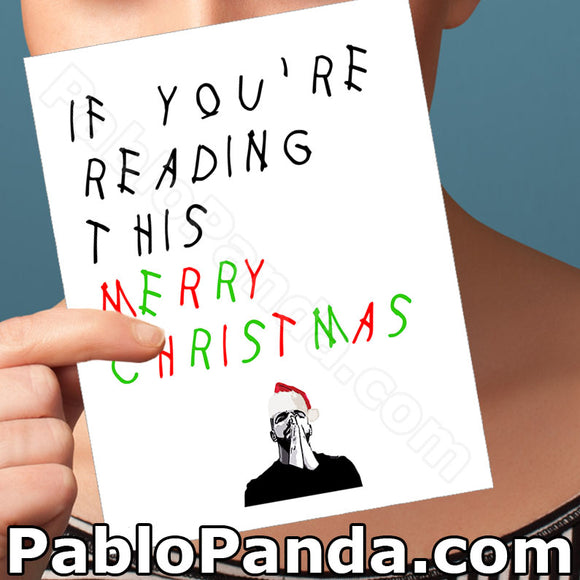 If You're Reading This Merry Christmas - SocialShambles.com