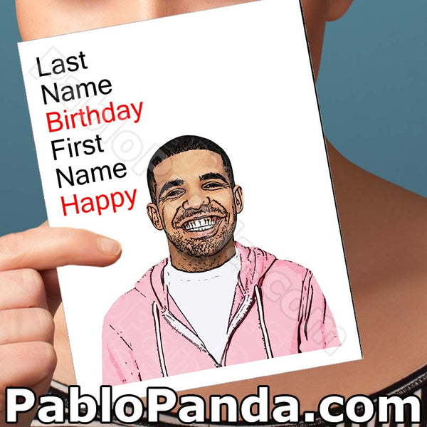 Last Name Birthday First Name Happy