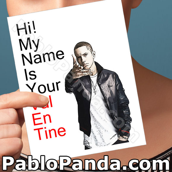 Hi My Name is Your Valentine - SocialShambles.com
