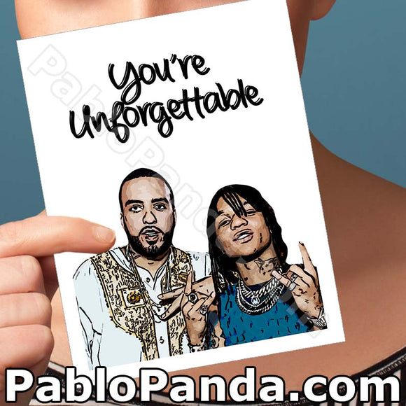 You're Unforgettable - SocialShambles.com