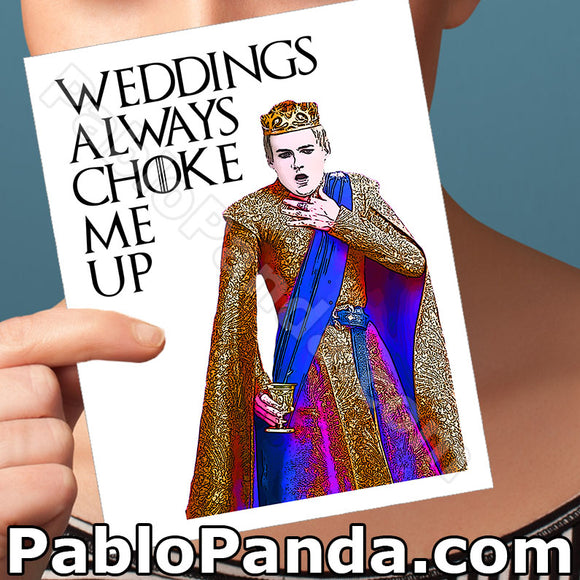 Weddings Always Choke Me Up - SocialShambles.com