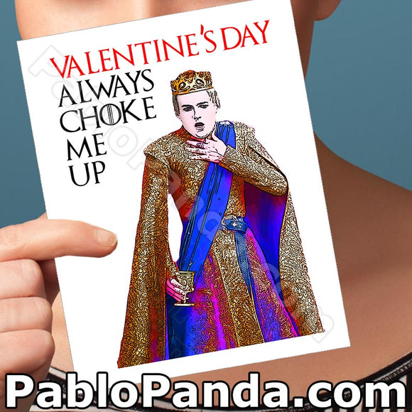 Valentine's Day Always Choke Me Up - SocialShambles.com