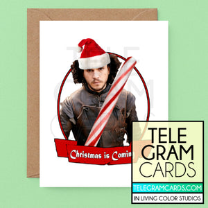 GOT (Jon Snow) [ILCS-003A-XMS] Christmas is Coming - SocialShambles.com