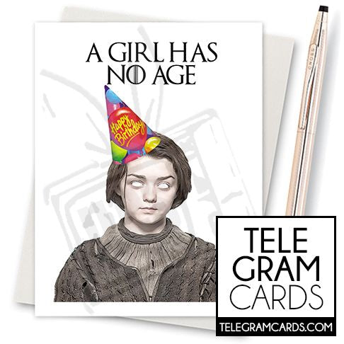 Game of Thrones (Arya Stark) - 001a - [ILCS][HBD] A Girl Has No Age