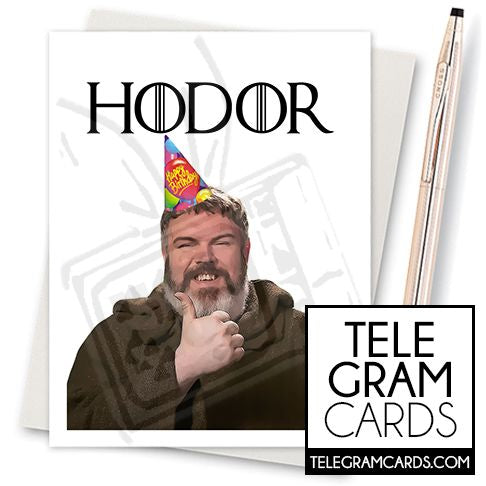 Game of Thrones (Hodor) - 001b - [ILCS][HBD] Hodor