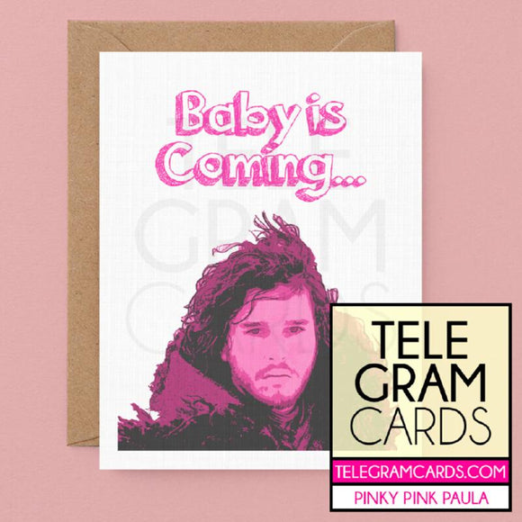 Game of Thrones (Jon Snow) [PPP-002P-BBY] Baby is Coming - SocialShambles.com
