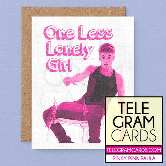 Justin Bieber [PPP-001P-GEN] One Less Lonely Girl - SocialShambles.com