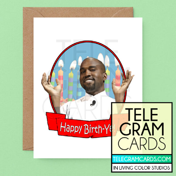 Kanye West [ILCS-002A-HBD] Happy Birth-Ye - SocialShambles.com