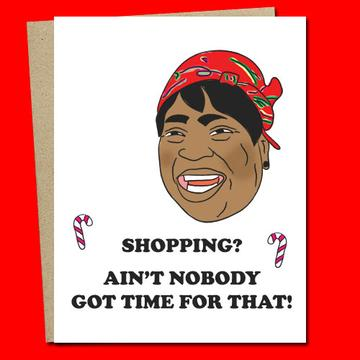 Shopping Aint Nobody Got Time For That - SocialShambles.com