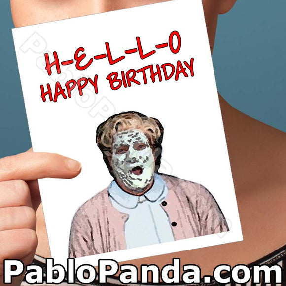 Hello Happy Birthday - SocialShambles.com