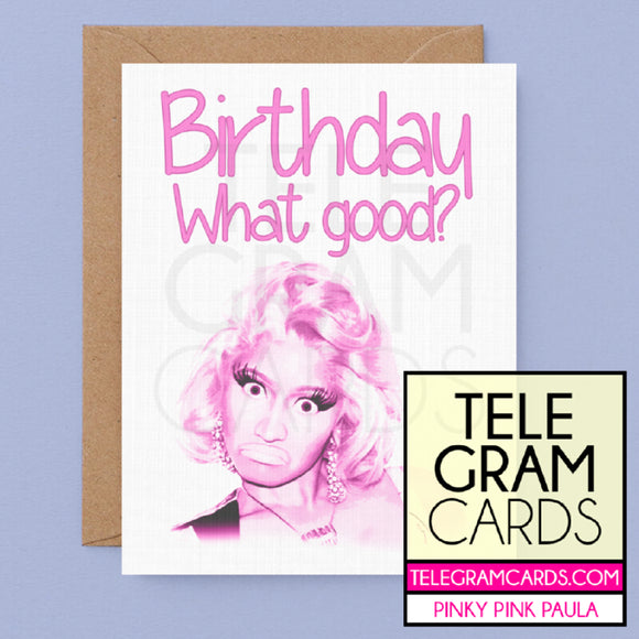 Nicki Minaj [PPP-001P-HBD] Birthday What's Good - SocialShambles.com