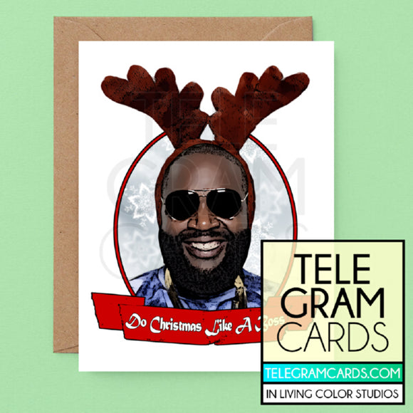 Rick Ross [ILCS-001A-XMS] Do Christmas Like A Boss - SocialShambles.com