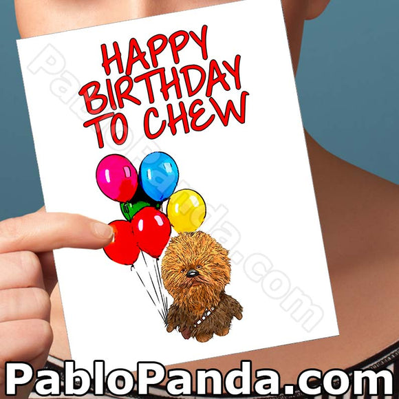 Happy Birthday To Chew - SocialShambles.com