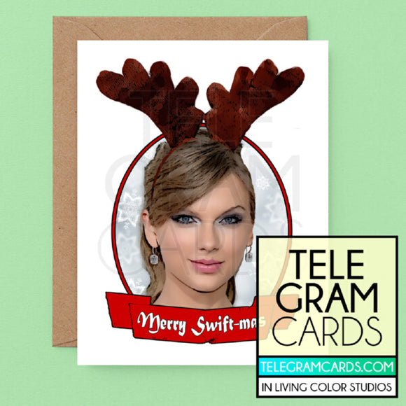 Taylor Swift [ILCS-001D-XMS] Merry Swift-mas - SocialShambles.com