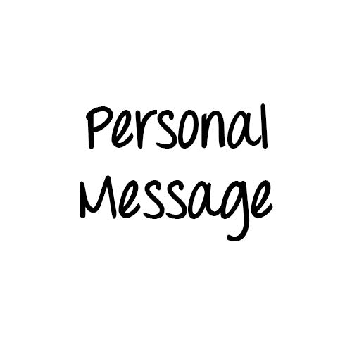 (Message Inside) Personal Message - SocialShambles.com