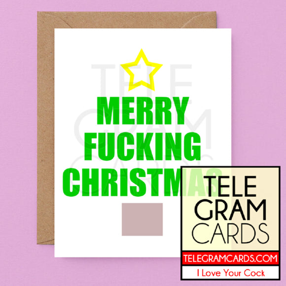 Text [ILYC-006-XMS] Merry Fucking Christmas - SocialShambles.com
