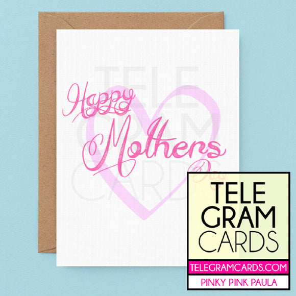 Text [PPP-005A-MOM] Happy Mother's Day - SocialShambles.com