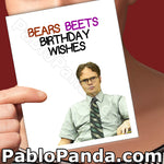 Bears Beets Birthday Wishes