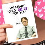 My Heart on Beets for You Fact