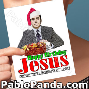 Happy Birthday Jesus Sorry Your Party So Lame - SocialShambles.com