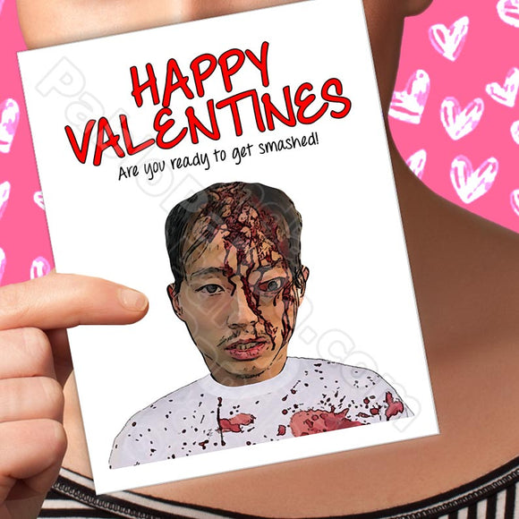 Happy Valentines Are You Read To Get Smashed - SocialShambles.com