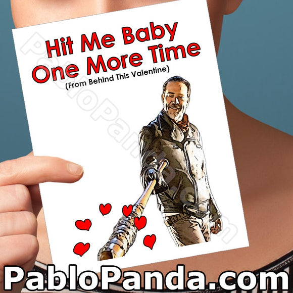 Hit Me Baby One More Time From Behind This Valentine - SocialShambles.com