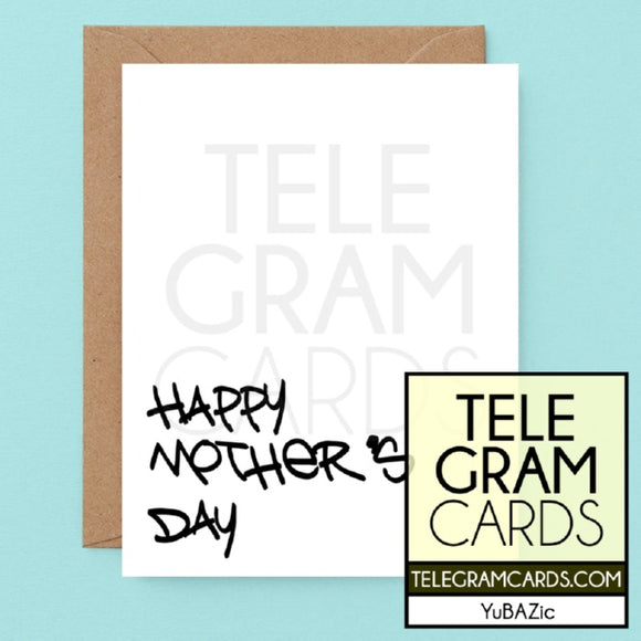 YuBAZic Cards [YBZ-001A-MOM] Happy Mother's Day - SocialShambles.com