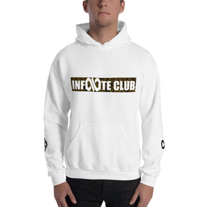 INFINITE LION HOODED SWEATSHIRT WITH SLEEVE DESIGNS